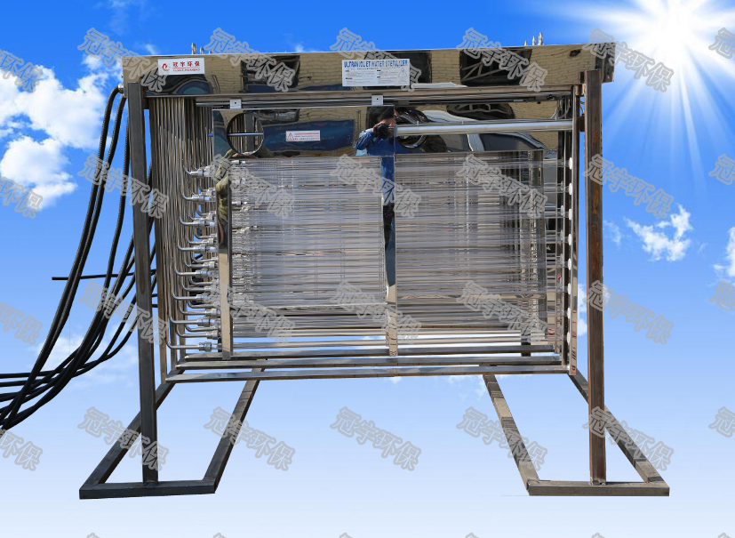 框架式紫外线消毒工程