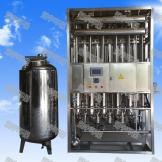 触摸屏列管多效蒸馏水机